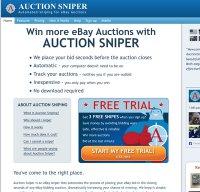 auctionsniper.com screenshot