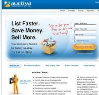 auctiva.com screenshot