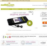 audible.com screenshot