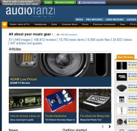 audiofanzine.com screenshot