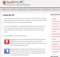 auditmypc.com screenshot