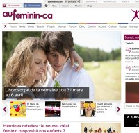 aufeminin.com screenshot