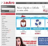 aukro.cz screenshot