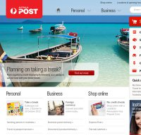 auspost.com.au screenshot