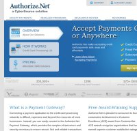 authorize.net screenshot
