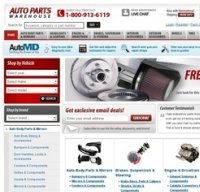 autopartswarehouse.com screenshot