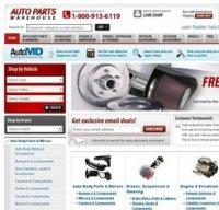 autopartswarehouse.com screenshot