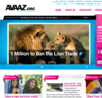 avaaz.org screenshot