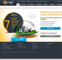 avast.com screenshot