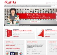 avira.com screenshot