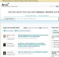 avvo.com screenshot