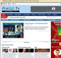awaztoday.com screenshot