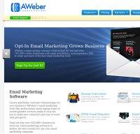 aweber.com screenshot