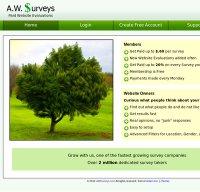 awsurveys.com screenshot