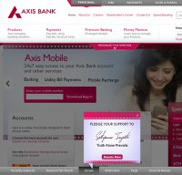 Axisbank com - Is Axis Bank Down Right Now?