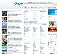 azet.sk screenshot