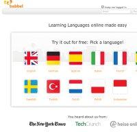 babbel.com screenshot
