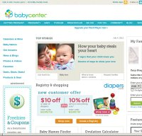 babycenter.com screenshot