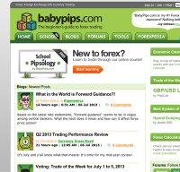 babypips.com screenshot