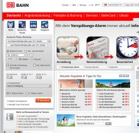 bahn.de screenshot