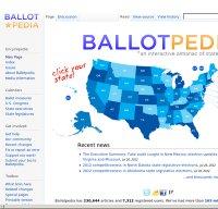ballotpedia.org screenshot
