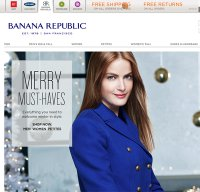 bananarepublic.com screenshot