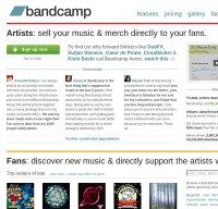 bandcamp.com screenshot