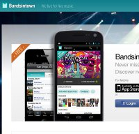 bandsintown.com screenshot