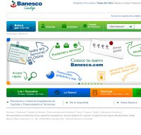 banesco.com screenshot