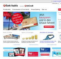 bankaustria.at screenshot