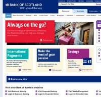 bankofscotland.co.uk screenshot