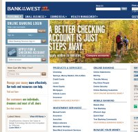 bankofthewest.com screenshot