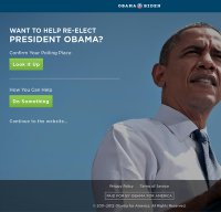 barackobama.com screenshot