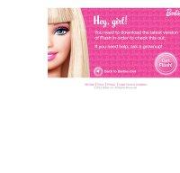 barbie.com screenshot