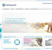 barclaycard.de screenshot