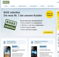 base.de screenshot