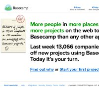 basecamp.com screenshot