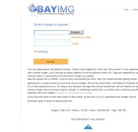 bayimg.com screenshot