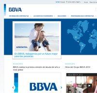 bbva.com screenshot