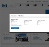 bell.ca screenshot