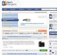 bensbargains.net screenshot