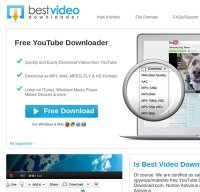 bestvideodownloader.com screenshot