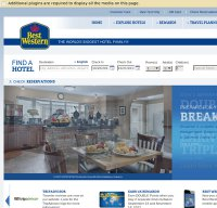 bestwestern.com screenshot