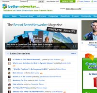 betternetworker.com screenshot