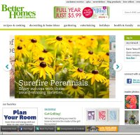 Is better homes and gardens down right now Better homes and gardens website