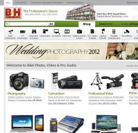 bhphotovideo.com screenshot