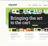 bigcartel.com screenshot