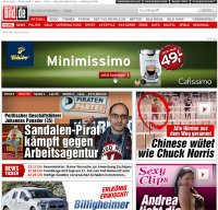 bild.de screenshot