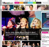 billboard.com screenshot