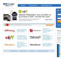 billmelater.com screenshot